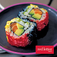 Buy Red Letter Days Sushi Making With Yo! Sushi for 2 Online at johnlewis.com