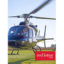 Buy Red Letter Days 30 Minute Helicopter Sights Tour Online at johnlewis.com