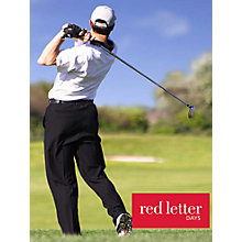 Buy Red Letter Days Golf Lesson with PGA Pro Online at johnlewis.com