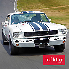Buy Red Letter Days Classic Muscle Car Hot Ride Online at johnlewis.com