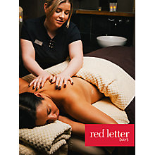 Buy Red Letter Days Luxury Twilight Pamper Treat Online at johnlewis.com