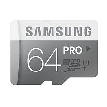Buy Samsung Pro UHS-I U1 microSDHC Memory Card, 64GB, 90MB/s, with SD Adapter Online at johnlewis.com