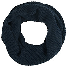 Buy Selected Homme Wool Mix Snood, Navy Online at johnlewis.com
