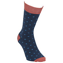 Buy Selected Homme Spot Socks, One Size, Navy/Red Online at johnlewis.com