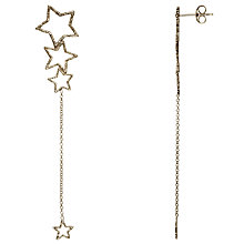 Buy Phoebe Coleman Star Gazer Earrings, Silver Online at johnlewis.com