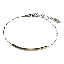 Buy Orelia Clean Bar & Chain Bracelet Online at johnlewis.com