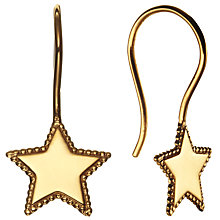 Buy Phoebe Coleman for John Lewis North Star Hook Earring, Gold Online at johnlewis.com