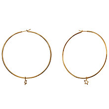Buy Phoebe Coleman Orbit Hoop Earrings, Gold Online at johnlewis.com