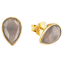 Buy Auren Tear Drop Rose Cut Stud Earrings Online at johnlewis.com