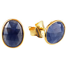 Buy Auren Rose Cut Sapphire Stud Earrings Online at johnlewis.com