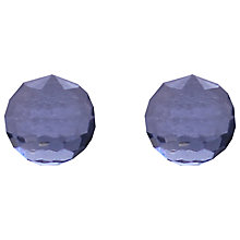 Buy Joma Elisa Crystal Stud Earrings, Blue Online at johnlewis.com