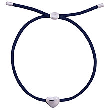 Buy Joma Kiko Friendship Silk Bracelet, Blue Online at johnlewis.com