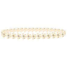 Buy Joma Daisy Chain Infinity Bangle, Gold Online at johnlewis.com