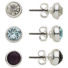 Buy John Lewis Triple Round Stud Earrings Set Online at johnlewis.com