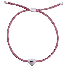 Buy Joma Kiko Friendship Silk Bracelet, Plum Online at johnlewis.com