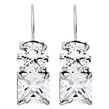 Buy Dyrberg/Kern Caprice Silver Cubic Zerconia Earrings Online at johnlewis.com