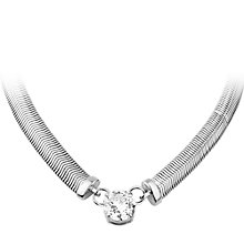 Buy Dyrberg/Kern Trisolia Cubic Zirconia Necklace Online at johnlewis.com