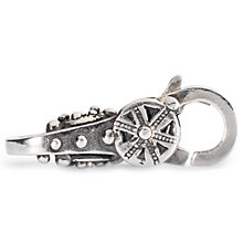 Buy Trollbeads Sterling Silver Spiritual Temples Lock Charm Online at johnlewis.com
