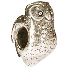 Buy Trollbeads Sterling Silver Owl Charm Online at johnlewis.com