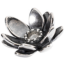 Buy Trollbeads Sterling Silver Giant Lotus Pendant Online at johnlewis.com