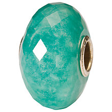 Buy Trollbeads Sterling Silver Hope Faceted Amazonite Bead, Green Online at johnlewis.com