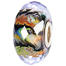 Buy Trollbeads Sterling Silver Inner Strength Faceted Glass Bed, Multi Online at johnlewis.com