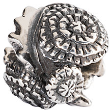 Buy Trollbeads Sterling Silver Dandelion Charm Online at johnlewis.com