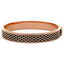 Buy Halcyon Days 18ct Rose Gold Plated Enamel Salamander Bangle Online at johnlewis.com