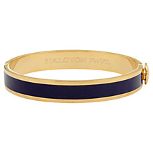 Buy Halcyon Days 18ct Gold Plated Enamel Hinged Bangle Online at johnlewis.com
