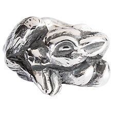 Buy Trollbeads Sterling Silver Fawn Charm Online at johnlewis.com