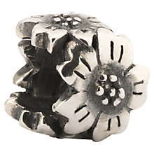 Buy Trollbeads Sterling Silver Sakura Charm Online at johnlewis.com
