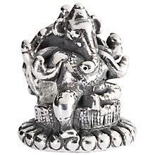 Buy Trollbeads Sterling Silver Ganesha Charm Online at johnlewis.com