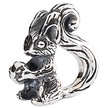 Buy Trollbeads Sterling Silver Squirrel Charm Online at johnlewis.com