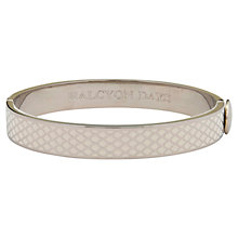 Buy Halcyon Days Palladium Plated Enamel Salamander Bangle Online at johnlewis.com