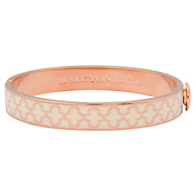 Buy Halcyon Days 18ct Gold Plated Enamel Agama Bangle Online at johnlewis.com