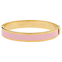 Buy Halycon Days 18ct Gold Plated Enamel Hinged Bangle Online at johnlewis.com