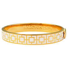 Buy Halcyon Days Enamel Mosaic Bangle Online at johnlewis.com