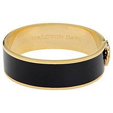 Buy Halcyon Days 18ct Gold Plated Bangle Online at johnlewis.com