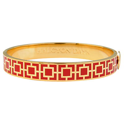 Halcyon Days Enamel Mosaic Bangle