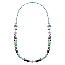 Buy Martick Crystal Necklace and Bracelet Set, Multi Online at johnlewis.com