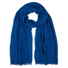 Buy Hobbs Hattie Scarf, Bluebell Online at johnlewis.com