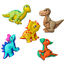 Buy Jesse James Dino-mite Card Toppers, Pack of 5 Online at johnlewis.com