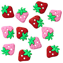 Buy Sew Cute Strawberry Embellishments Online at johnlewis.com