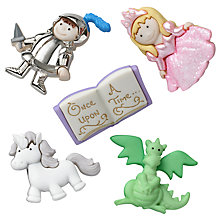 Buy Jesse James Fairytale Card Toppers, Pack of 5 Online at johnlewis.com