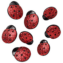 Buy Jesse James Glitter Ladybird Embellishments Online at johnlewis.com