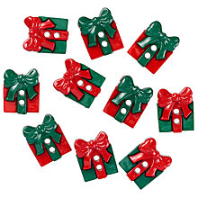 Buy Jesse James Christmas Gift Card Toppers, Pack of 10 Online at johnlewis.com