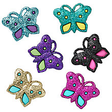 Buy Jesse James Glitter Butterflies Embellishments Online at johnlewis.com
