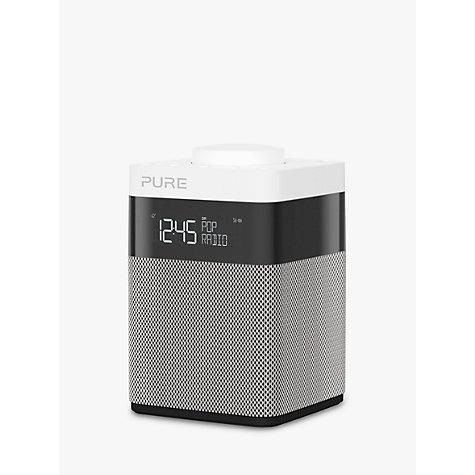 buy pure pop mini dab fm portable digital radio grey john lewis. Black Bedroom Furniture Sets. Home Design Ideas