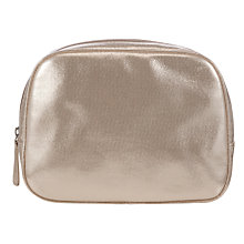 Buy John Lewis Metallic Large Pouch Cosmetics Case Online at johnlewis.com