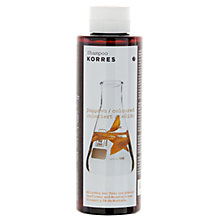 Buy Korres Sunflower and Mountain Tea Shampoo For Coloured Hair, 250ml Online at johnlewis.com